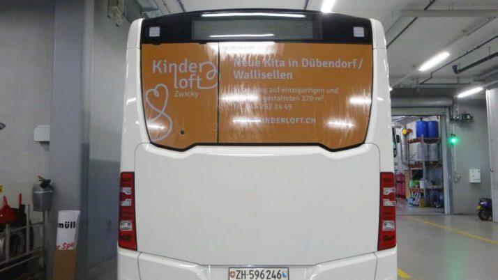 'Unser' Bus ist unterwegs!