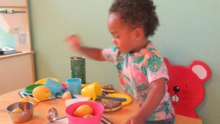 Nach unserer Teamwoche: Rollenspielbereich für die Kleinsten